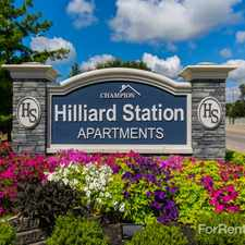 Rental info for Hilliard Station Apartments in the Columbus area