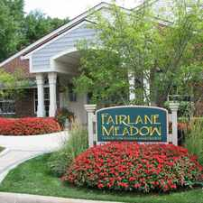 Rental info for Fairlane Meadow Apartments and Townhomes in the Detroit area