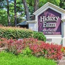 Rental info for Hickory Farm