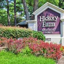 Rental info for Hickory Farm