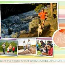 Rental info for Riverstone Apartments in the Sacramento area