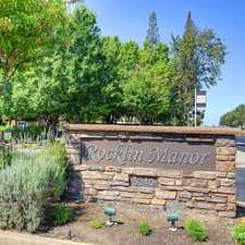 Rental info for Rocklin Manor Apartments