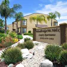 Rental info for Woodbridge Mt. Helix Apartments in the San Diego area