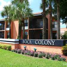 Rental info for Boca Colony