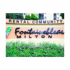 Rental info for Fontainebleau Milton Luxury Rentals