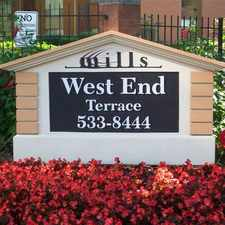 Rental info for West End Terrace Apartments in the St. Louis area