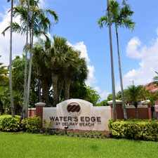 Rental info for Water's Edge Apartments