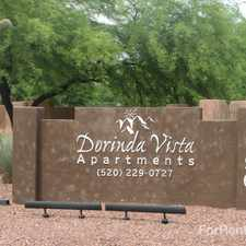 Rental info for Dorinda Vista Apartments in the Casas Adobes area