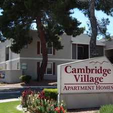 Rental info for Cambridge Village