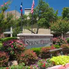 Rental info for Springfield in the 75150 area