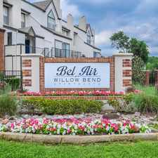 Rental info for Bel Air Willow Bend