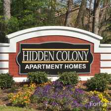 Rental info for Hidden Colony