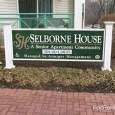 Rental info for Selborne House - Senior Community