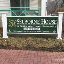 Rental info for Selborne House - Senior Community