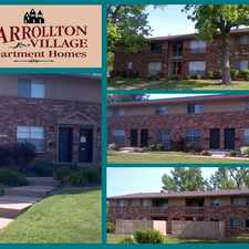 Rental info for Carrollton Village Apartments