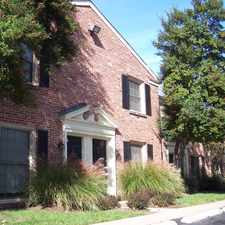 Rental info for Georgetown Apartments in the Webster Groves area