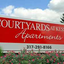 Rental info for Courtyards at Kessler in the Indianapolis area