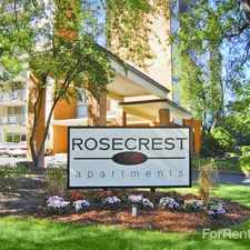 Rental info for Rosecrest