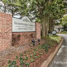 Rental info for Stonebridge Crossing