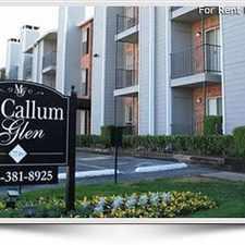 Rental info for McCallum Glen in the Dallas area