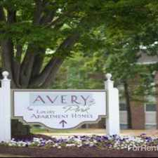 Rental info for Avery Park
