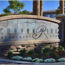 Rental info for Canyon Ridge