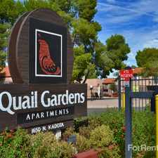 Rental info for Quail Gardens