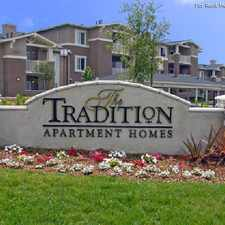 Rental info for Tradition