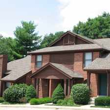 Rental info for Chesterfield Village Townhomes in the 63017 area