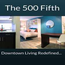 Rental info for The 500 Fifth Apartments in the Nashville-Davidson area