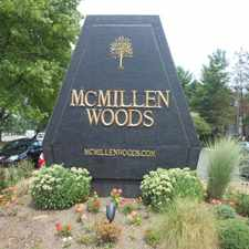 Rental info for McMillen Woods