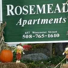 Rental info for Rosemeade in the Southbridge Town area