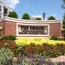 Rental info for The Drexel Apartment Residences