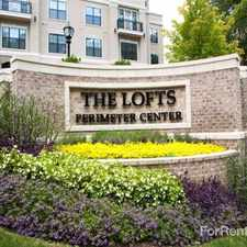 Rental info for The Lofts Perimeter Center
