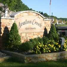 Rental info for Avalon Creek Apartments