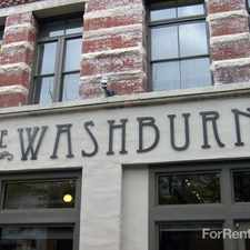 Rental info for The Washburn