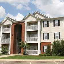 Rental info for Tupelo Trace in the Tupelo area