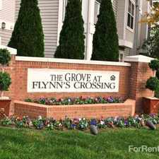 Rental info for The Grove at Flynn's Crossing