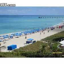 Rental info for $2500 2 bedroom Apartment in North Miami Beach in the Sunny Isles Beach area