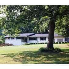 Rental info for Beautiful White Brick Home (Ranch Lrg Yard)
