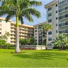Rental info for Lido Beach Unfurnished 2/2 Condo in the Lido Key area