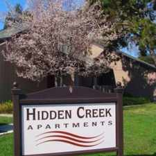 Rental info for Hidden Creek Apartments