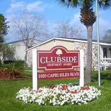 Rental info for Clubside Apartment Homes