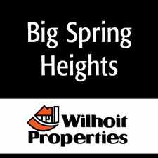 Rental info for Big Springs Heights Apartments