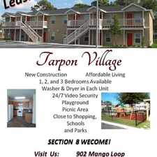 Rental info for Volunteers of America Florida in the Tarpon Springs area