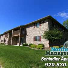 Rental info for Schindler Apartments in the Menasha area