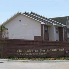 Rental info for The Ridge at North Little Rock