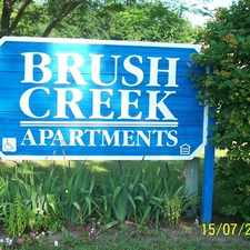Rental info for Brush Creek Apartments