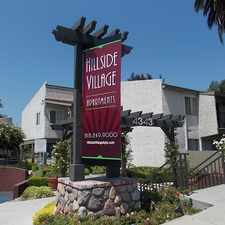 Rental info for Hillside Village Apartments in the La Crescenta-Montrose area