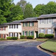 Rental info for Creekview Townhomes